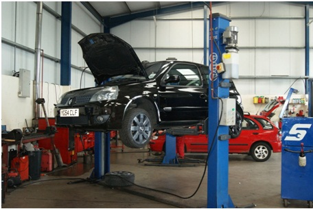 car servicing in UK
